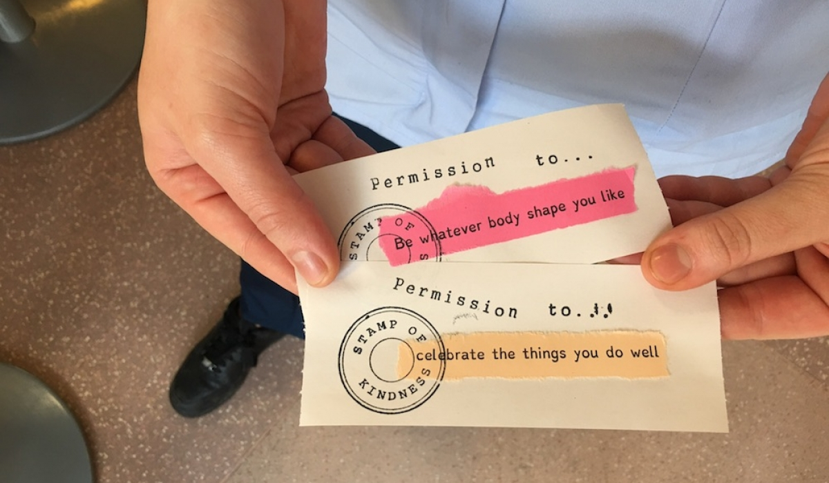 Permission to celebrate the things you do well
