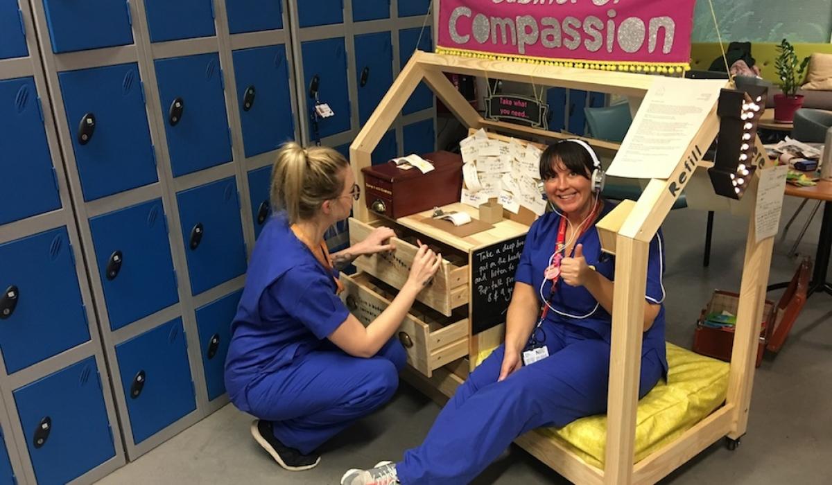 The cabinet of compassion nurses