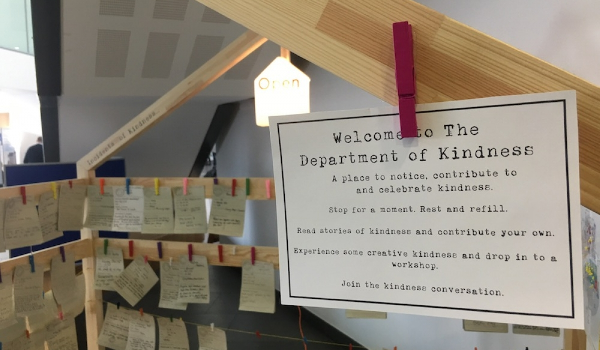 Welcome to the Department of Kindness