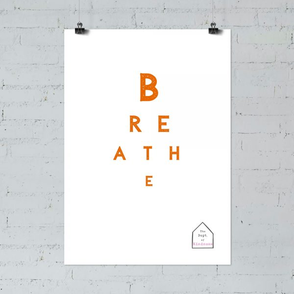 breathe poster colour