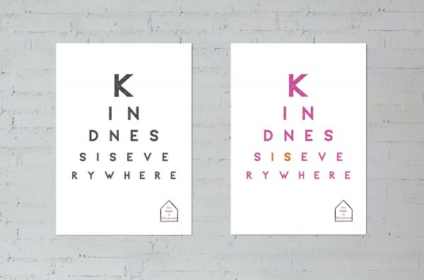 Kindness is Everywhere posters