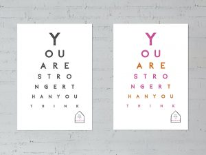 You are stronger than you think posters