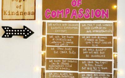Creating a Manifesto of Compassion with Newbridge Year 6 pupils