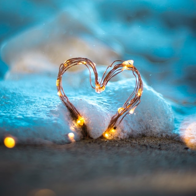 heart glow